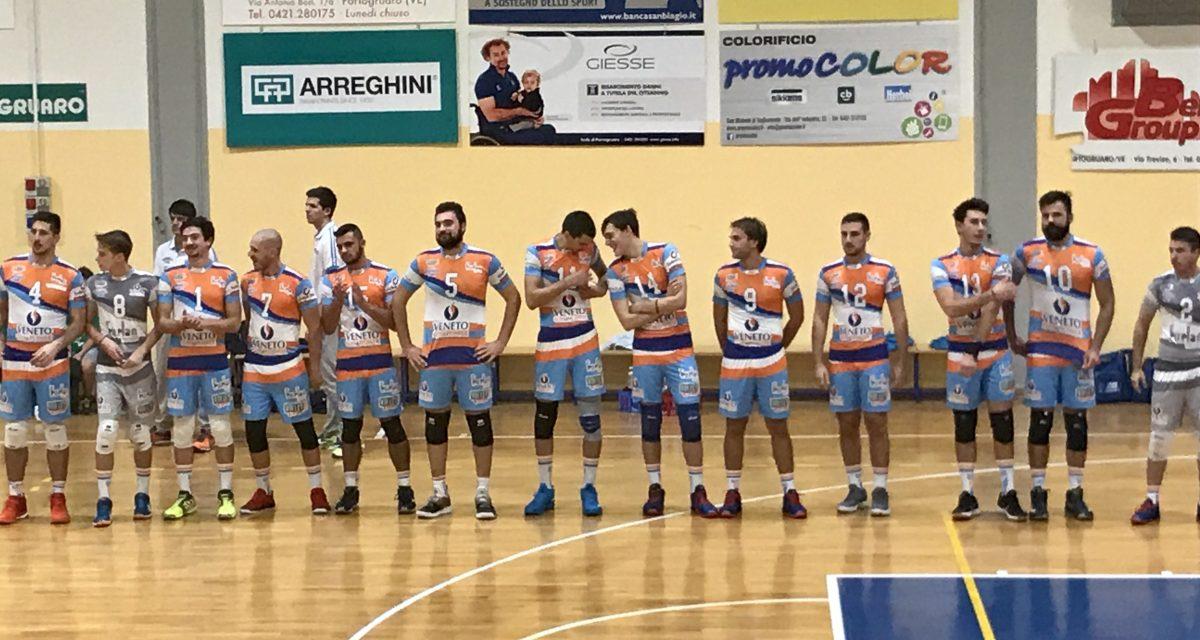 Pomeriggio sportivo al palazzetto Barbazza – debutto casalingo per le maggiori categorie Invent Volley Team