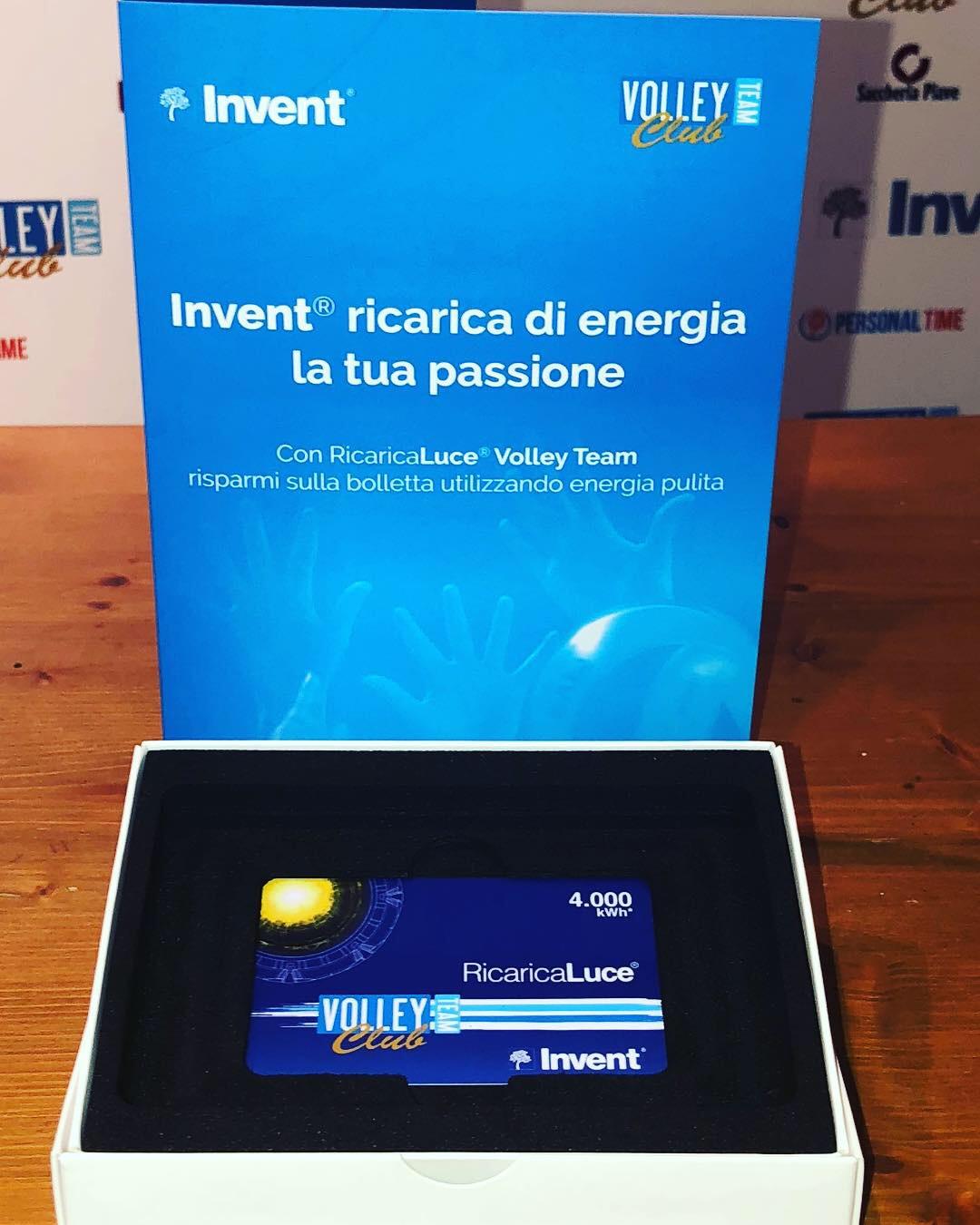 Il nostro Main Sponsor Invent ricarica di energia la tua passione!