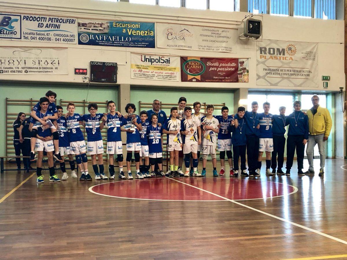 Medaglia d'oro per l'Invent Volley Team Club nel campionato Under 13 3×3