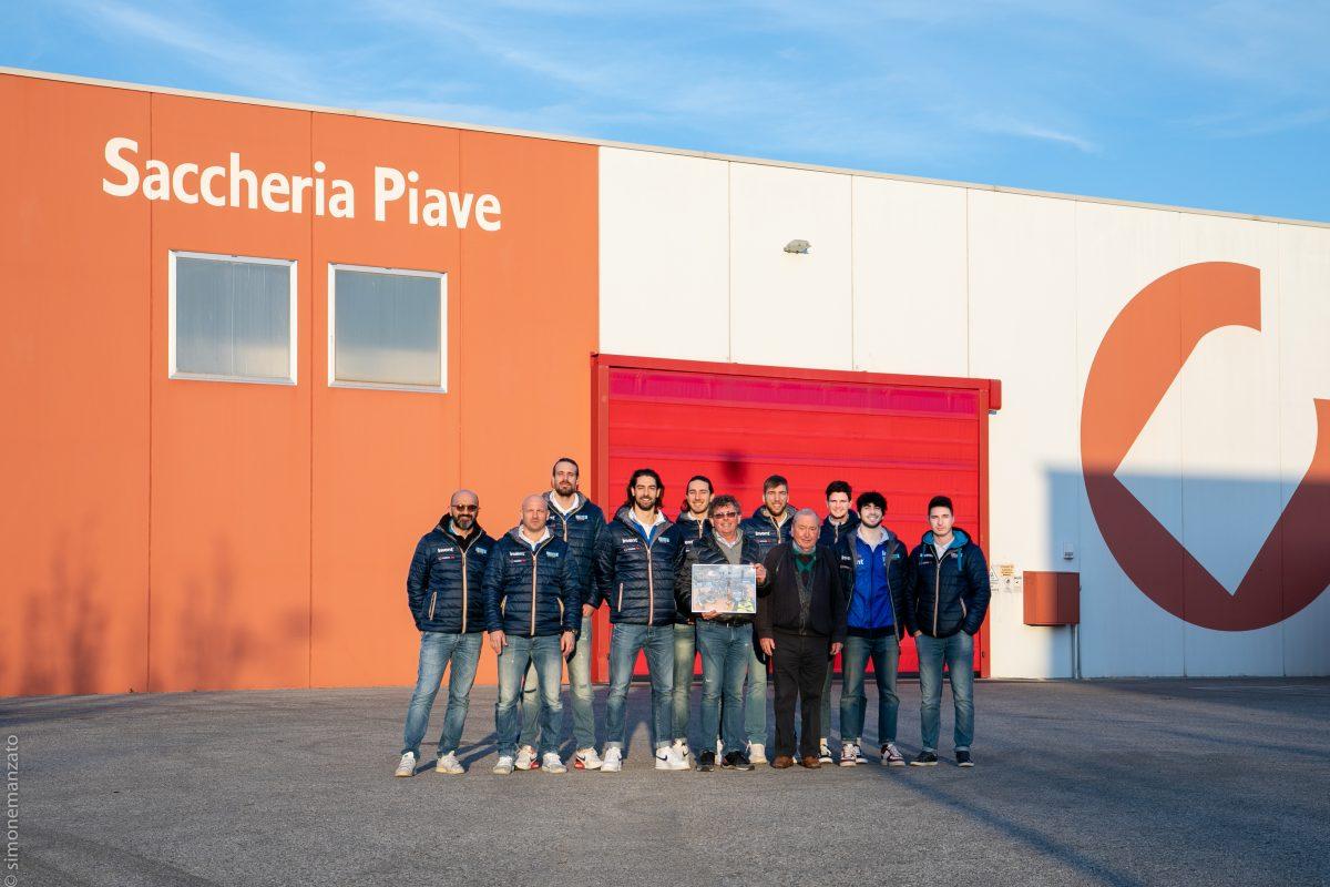 La Serie A in visita al Golden Sponsor Saccheria Piave