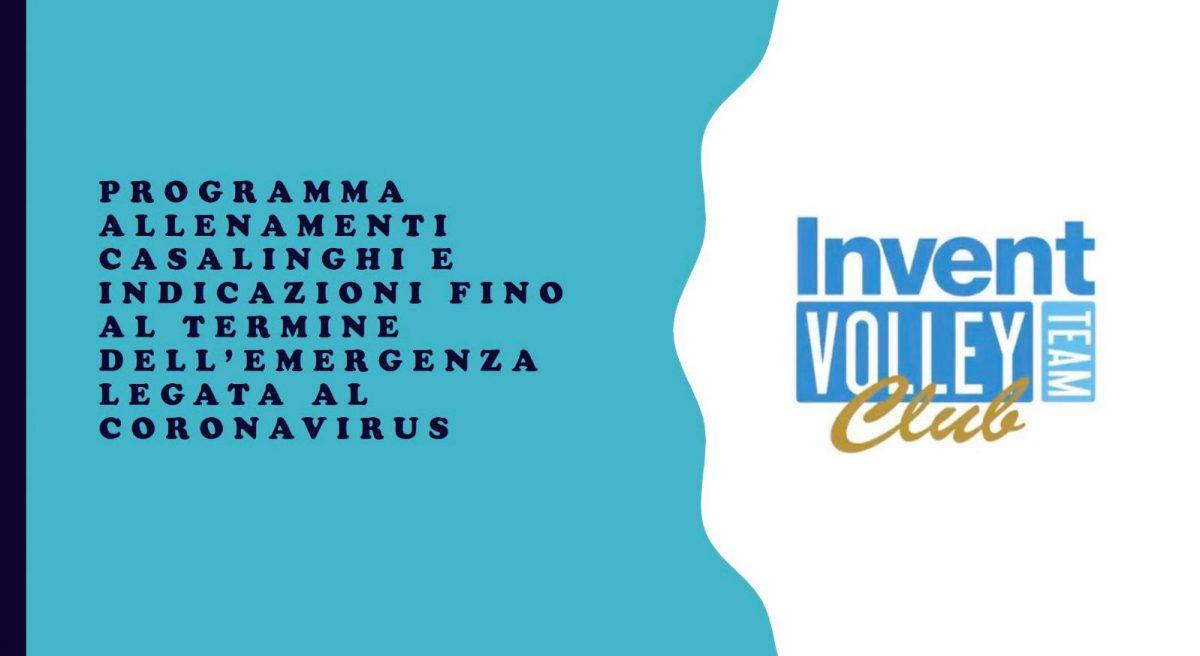Il settore giovanile dell'Invent Volley Team Club non si ferma